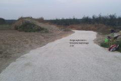 Droga wykonana z kruszywa wapiennego 2.16